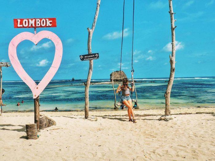 10 Foto Pantai Seger Rute Jalan Menuju Lokasi Dimana Kuta Lombok Tengah Ntb Jejakpiknik Com
