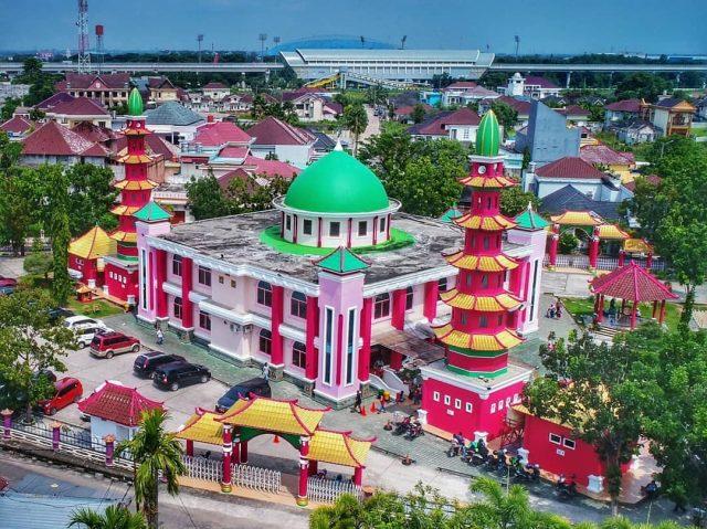 10 Gambar Masjid Cheng Ho Palembang Sejarah Latar Belakang Keunikan Arsitektur Jejakpiknik Com