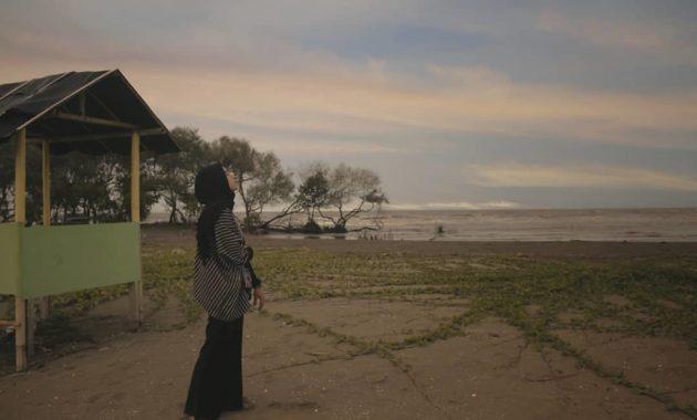 Pantai cirewang kabupaten subang jawa barat indah pamanukan jalan video di wisata alamat lokasi