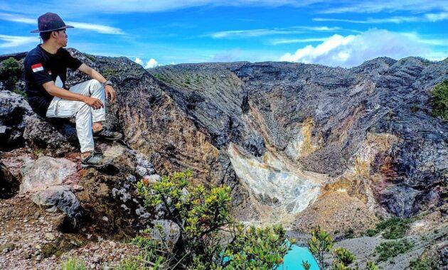 Gunung terindah di jawa barat pemandangan wisata