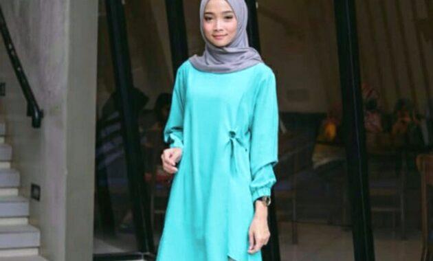 10 Gambar Baju Hijau Tosca Cocok Dengan Jilbab Warna Apa Jejakpiknik Com